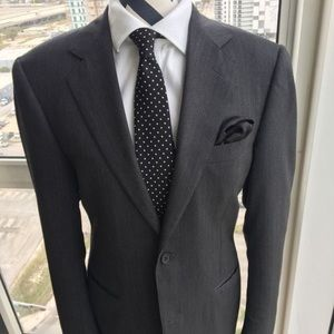 Men's blazer by Canali of Italy Black. Size (42R)